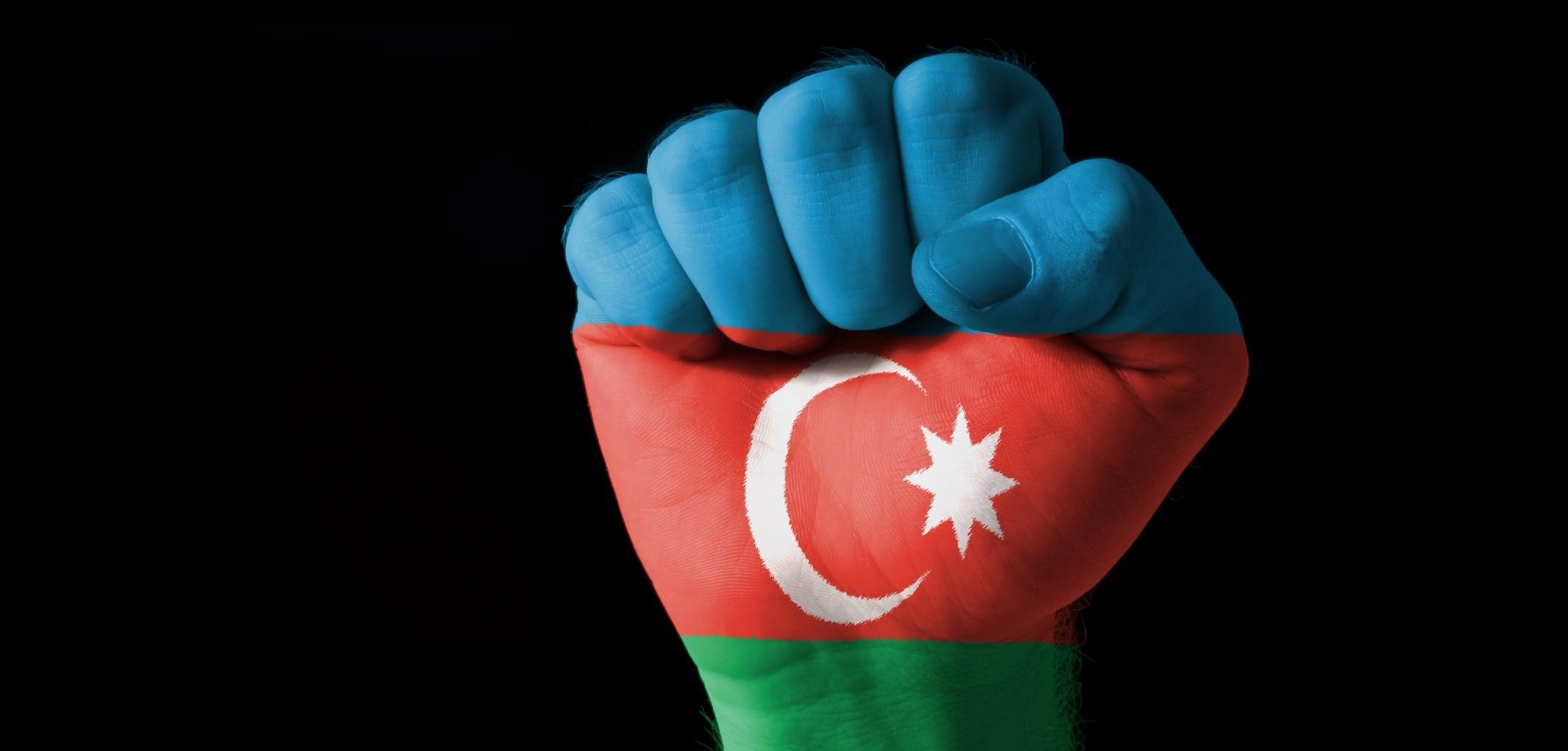 Фото девушек с флагом азербайджана