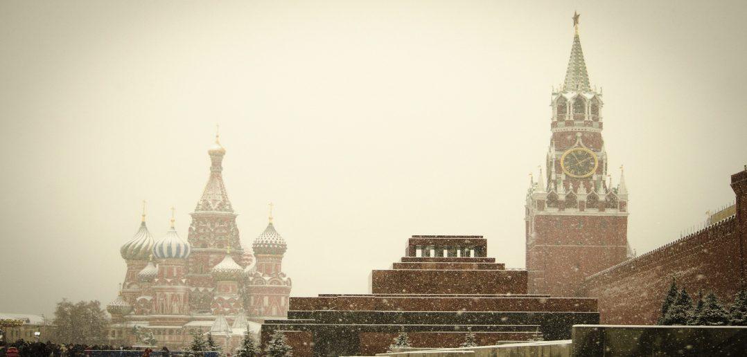 Кремль зима