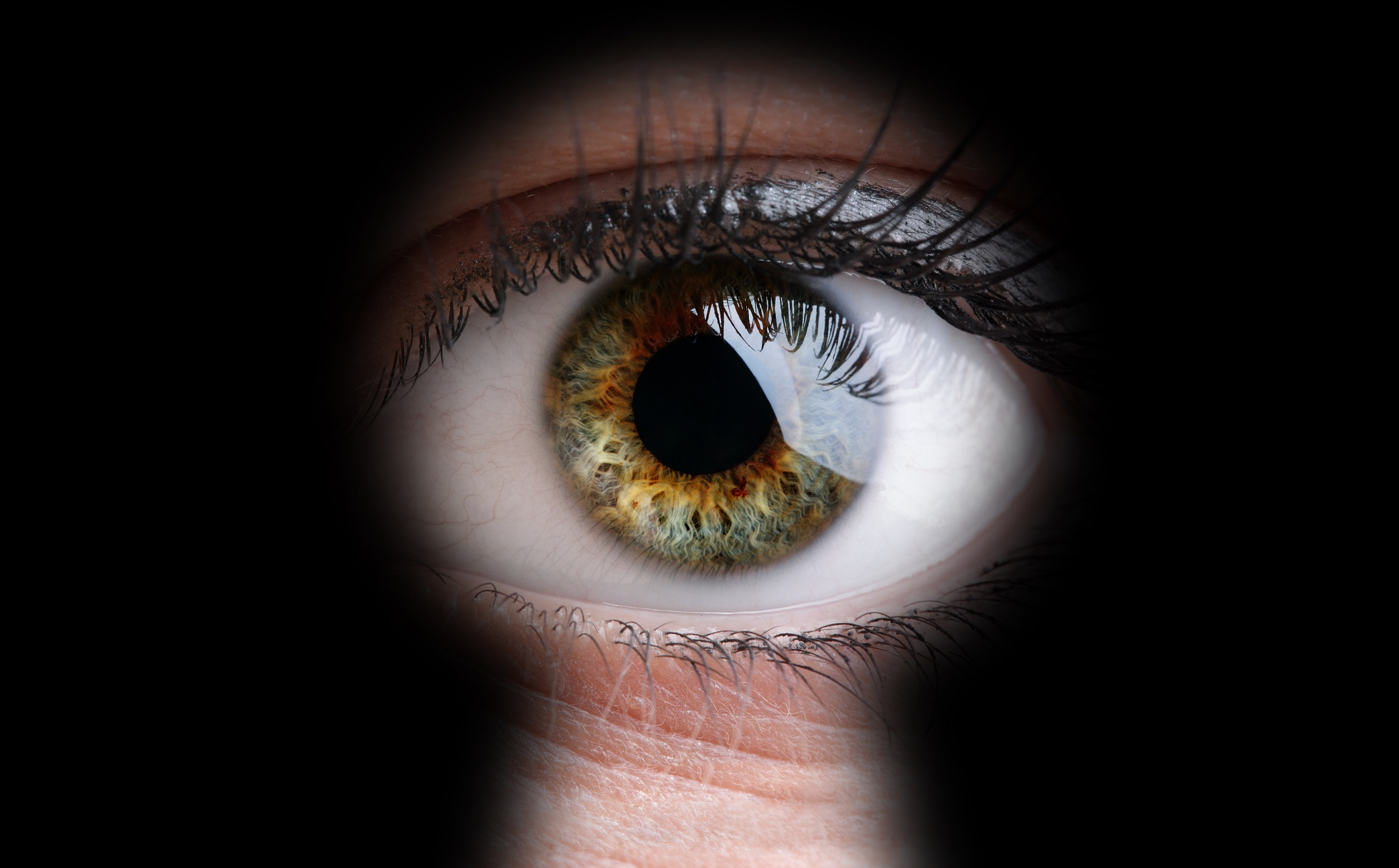 Как сделать как через глазок