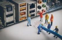 Развитие сетей связи