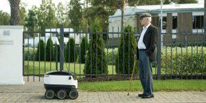 В столице США в качестве курьеров по доставке товаров на дом будут работать эстонские роботы.