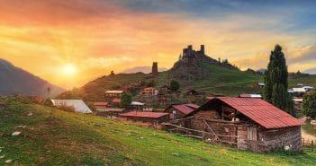 В грузинский регион Тушети на высоте 3,5 тыс. метров проведут интернет за 40 тыс. долларов США