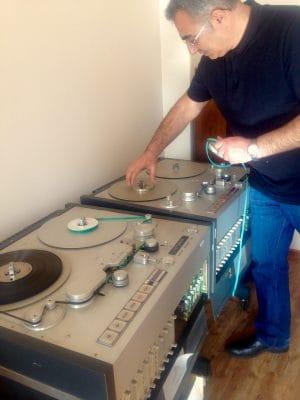 Разгребать «аудиозакрома родины» доверили музыканту Артуру Испиряну