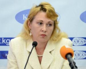 Глава Управления платежных систем Национального банка КР Эвелина Лелевкина