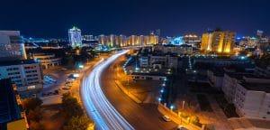В столице Казахстана появилось 5 остановок с освещением на солнечных батареях