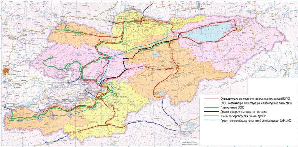 Карта проекта Digital CASA