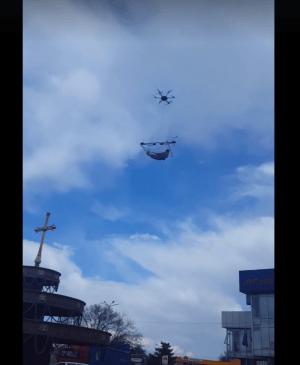 Полет в Хашури – первый громкий случай использования новых технологий в грузинской рекламной сфере