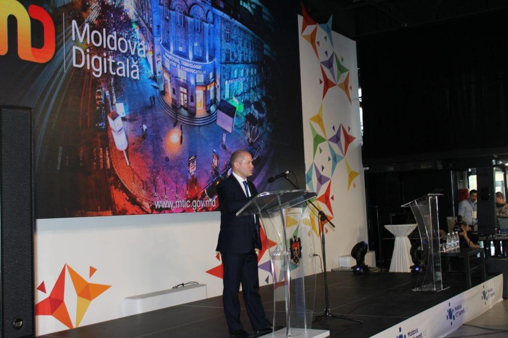 Виталие Тарлев, заместитель министра информационных технологий и связи РМ